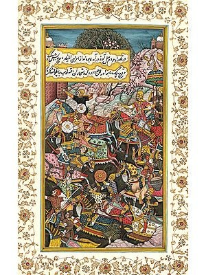 A Persian Battle Scene