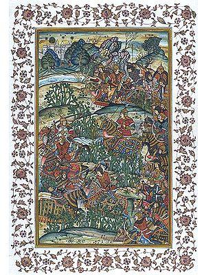 The Battle of Sarnal in Gujarat