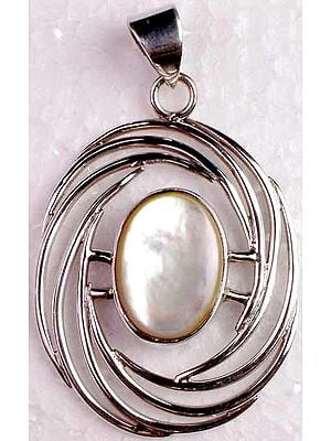 Shell and Wire Pendant