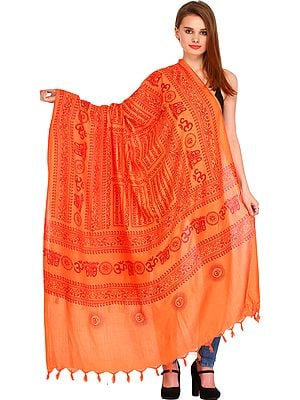 Sri Ram Jai Ram Jai Jai Ram Prayer Shawl