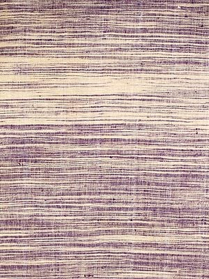 Ivory and Purple Handspun Coarse Khadi