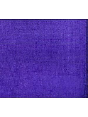Navy-Blue Khadi Silk Fabric