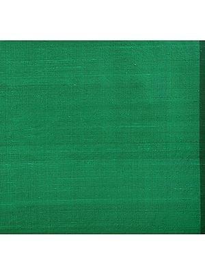 Islamic-Green Khadi Silk Fabric