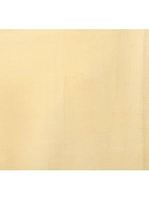 Plain Cream Satin Fabric
