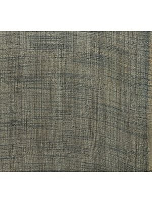 Frost-Gray Fabric with Thread Weave