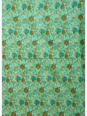 Gandhi Ashram Floral Printed Fabric