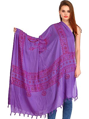 Maa Durga Prayer Shawl