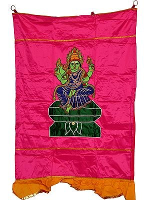 South-Indian Goddess Durga Auspicious Temple Curtain