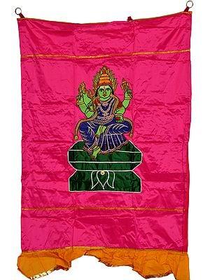 South-Indian Goddess Durga Auspicious Temple Curtain