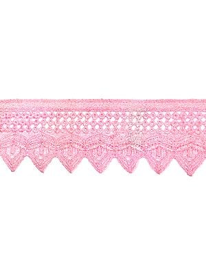 Lotus Crochet Border with Cut-work