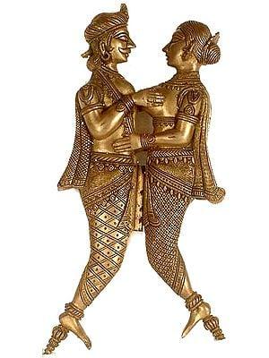 An Amorous Couple (Nut Cutter)