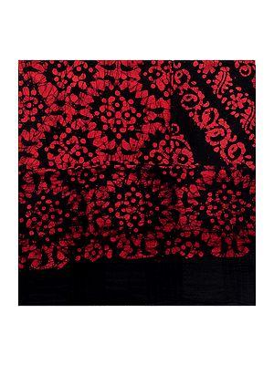 Batik-Dyed Salwar Kameez Fabric from Madhya Pradesh