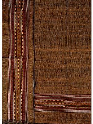 Salwar Kameez Fabric From Kullu with Kinnauri Hand-Woven Border
