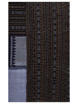 Salwar Kameez Fabric from Pochampally with Ikat Weave