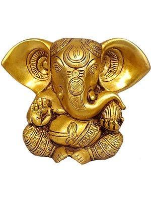 Baby Ganesha with Large Ears