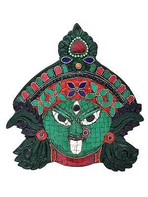 Devi Kali Wall Hanging Mask