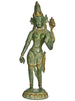 Tibetan Buddhist Deity Standing Tara