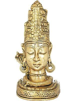Lord Shiva as Mukha Linga