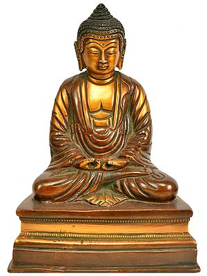 Japanese Buddhist - Lord Buddha in Meditation