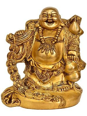 The Joyous Laughing Buddha - Tibetan Buddhist
