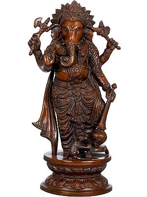 Standing Ganesha with Mace