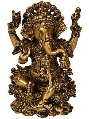 Kamalasana Ganesha