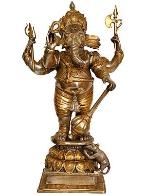 Large Size Warrior Ganesha