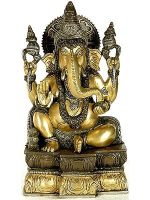 Four-Armed Ganesha