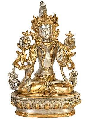 Seven Eyed Tibetan Buddhist Goddess White Tara