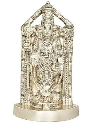 Lord Venkateshvara as Balaji at Tirupati