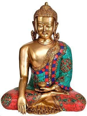 Tibetan Buddhist Deity Buddha in Mara Vijay Mudra