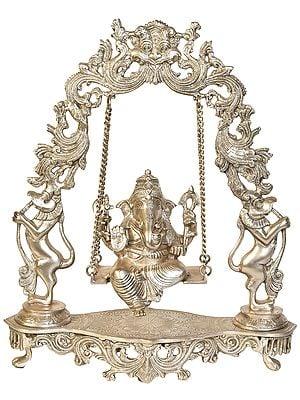 Ganesha On a Swing