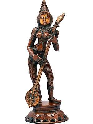 Goddess Saraswati in Concert