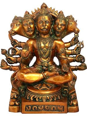 Five Headed (Panchamukhi) Hanuman
