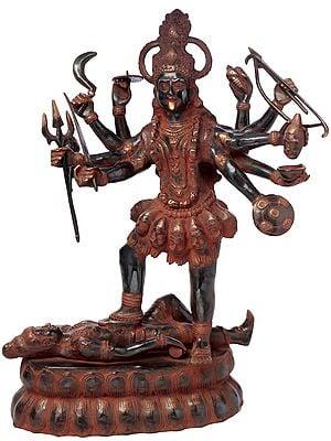 Dashabhuja Kali, As Invincible As She Gets