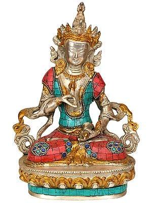 Adi-Buddha Vajrasattva (Tibetan Buddhist Deity)