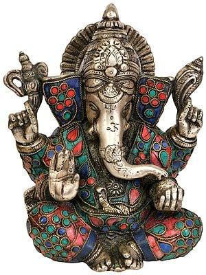 Four Armed Lord Ganesha
