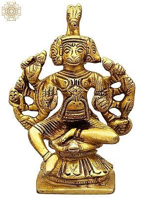 Five Headed Hanuman (Small Statue)