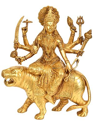 Eight Armed Goddess Durga