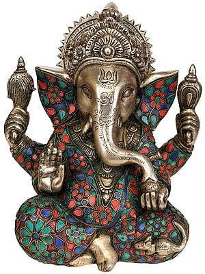 Blessing Lord Ganesha