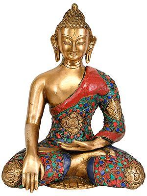 The Serene Buddha in Earth Touching Gesture