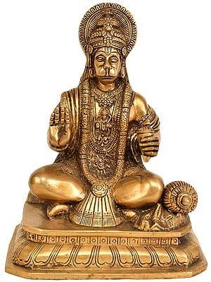 Lord Hanuman Granting Abhaya