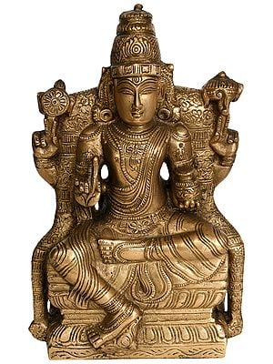 Lord Vishnu as Dhanvantari Seated in Lalitasana