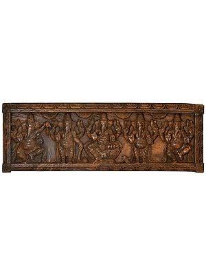 Pancha (Five) Ganesha Panel