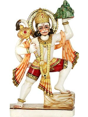 Shri Hanuman Carrying Sanjeevani Mountain