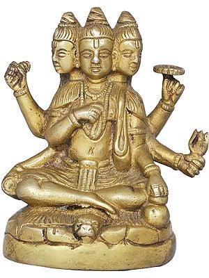 Composite Image of Brahma, Vishnu and Mahesh