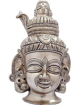 Lord Shiva Head with Ganges