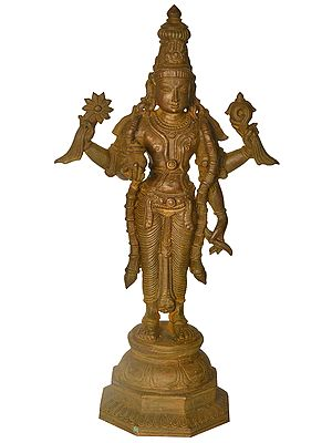 Lord Vishnu as Dhanvantari - The Phsyician of Gods
