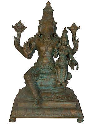 Bhu-Varaha, Avatara of Bhagawan Vishnu with Goddess Earth