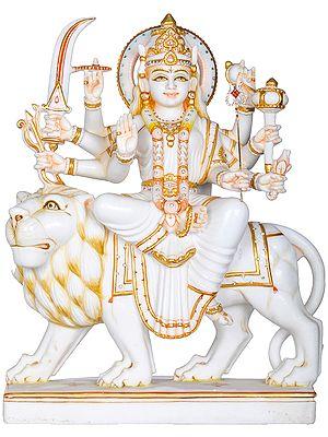 The Pristine Beauty Of Devi Durga